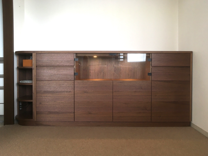 sideboard ordermade walnut