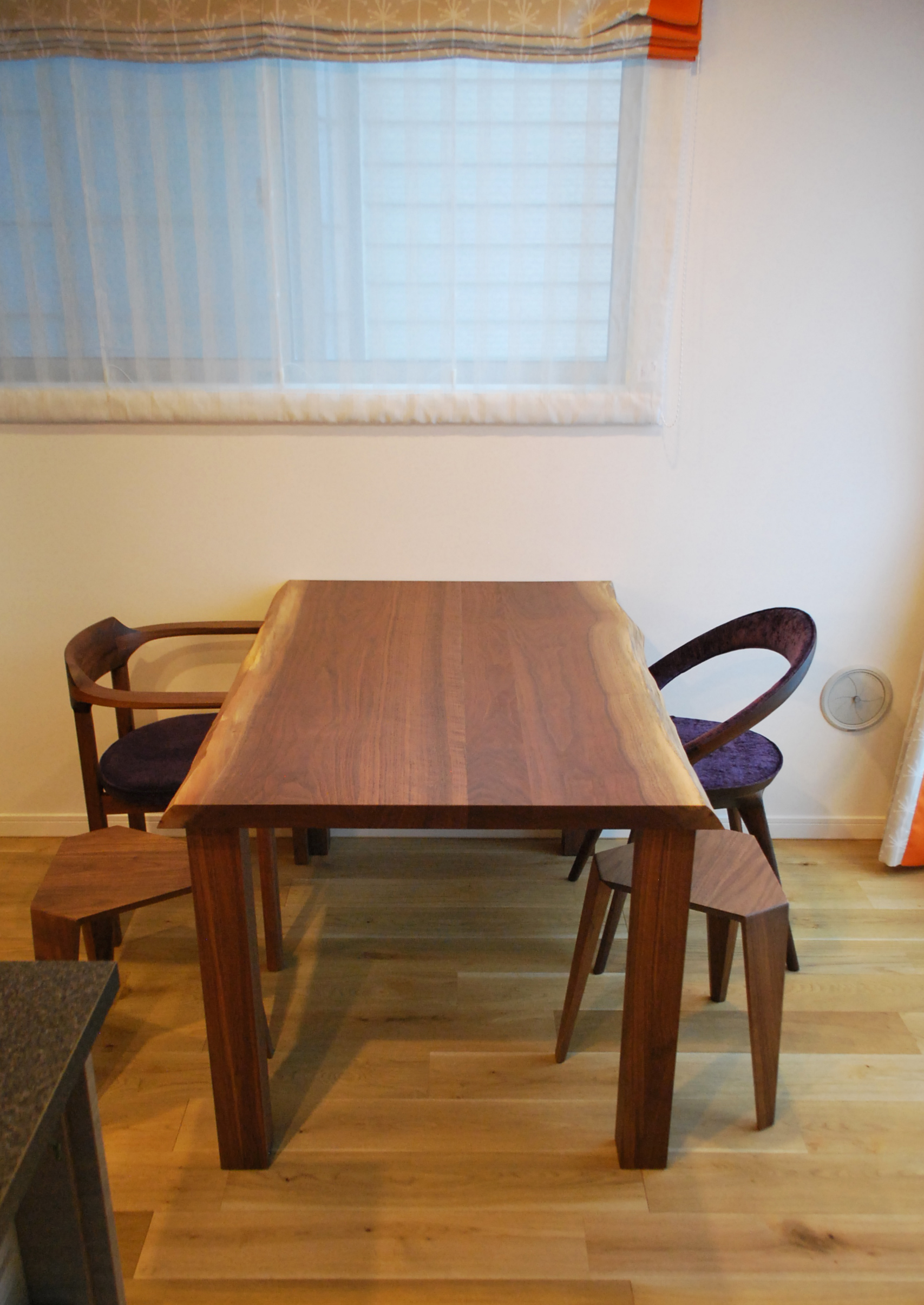 diningtable chair walnut