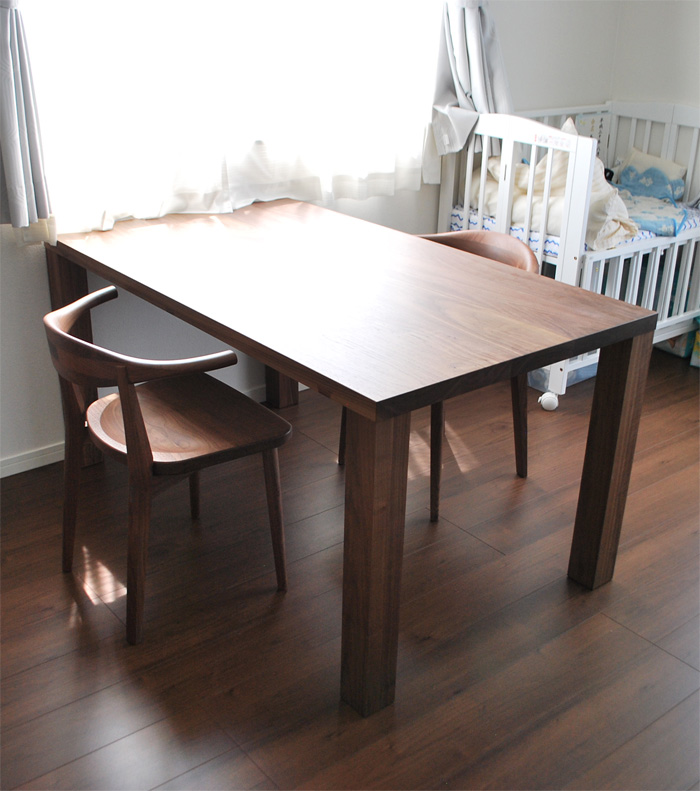Blisstable ADchair Walnut 3rd furniture handmide craft soliwood