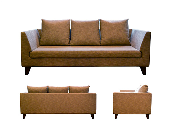 sofa covering walnut SHAPE