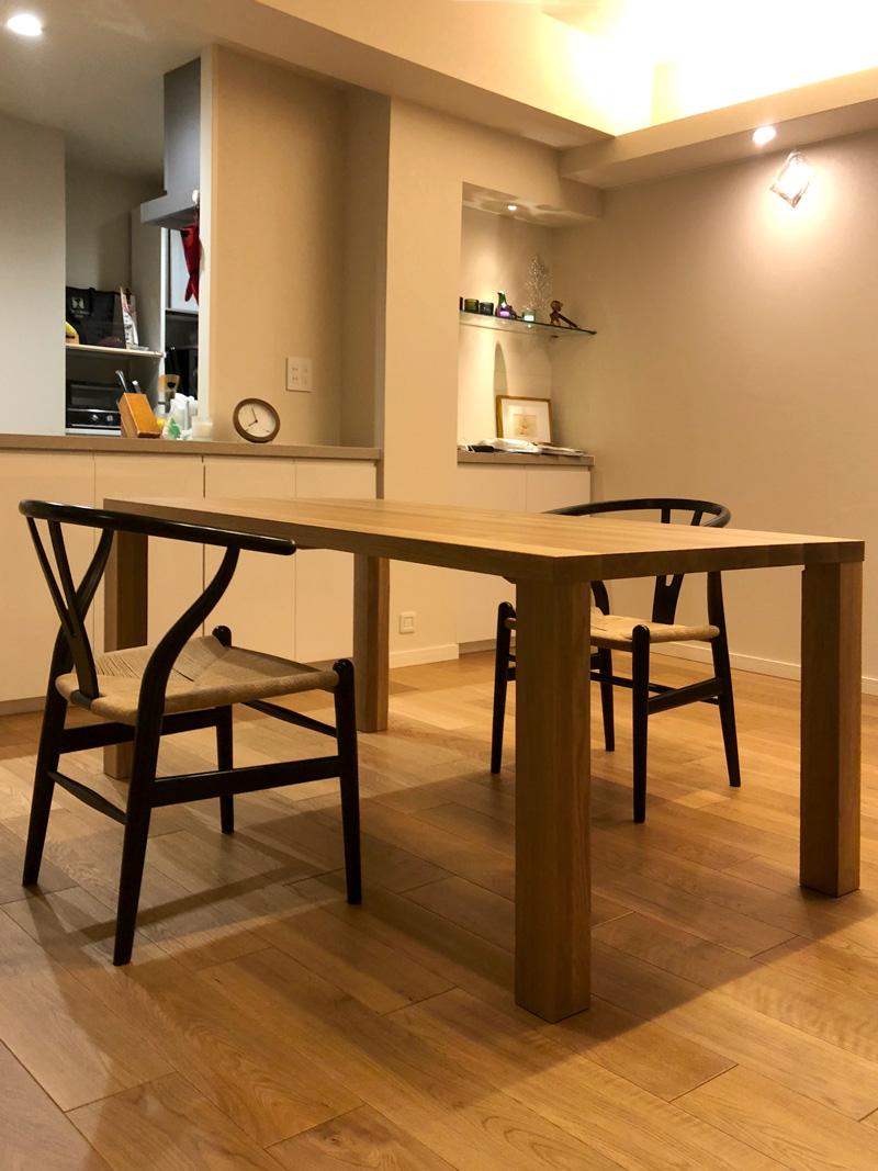 bliss dining table oak
