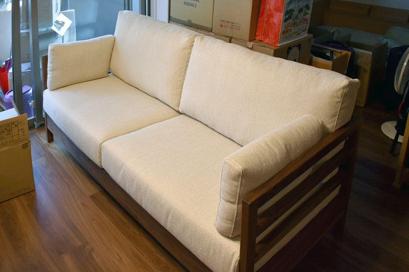 sofa lattice walnut washable white plugtable