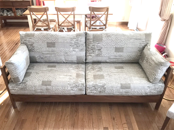 sofa solidwood 3rd walnut