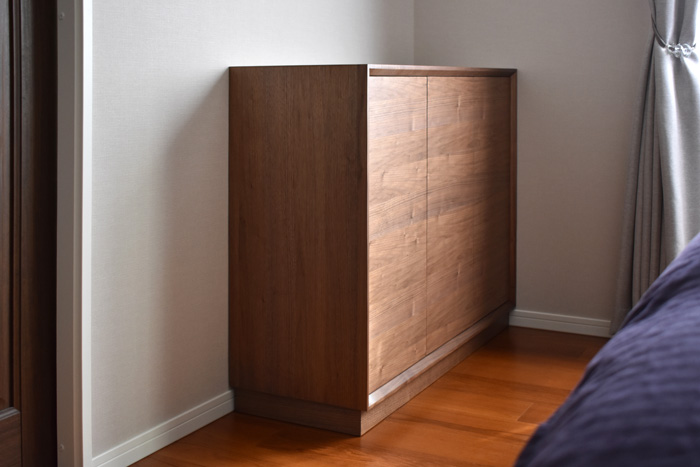sideboard walnut hella bedroom