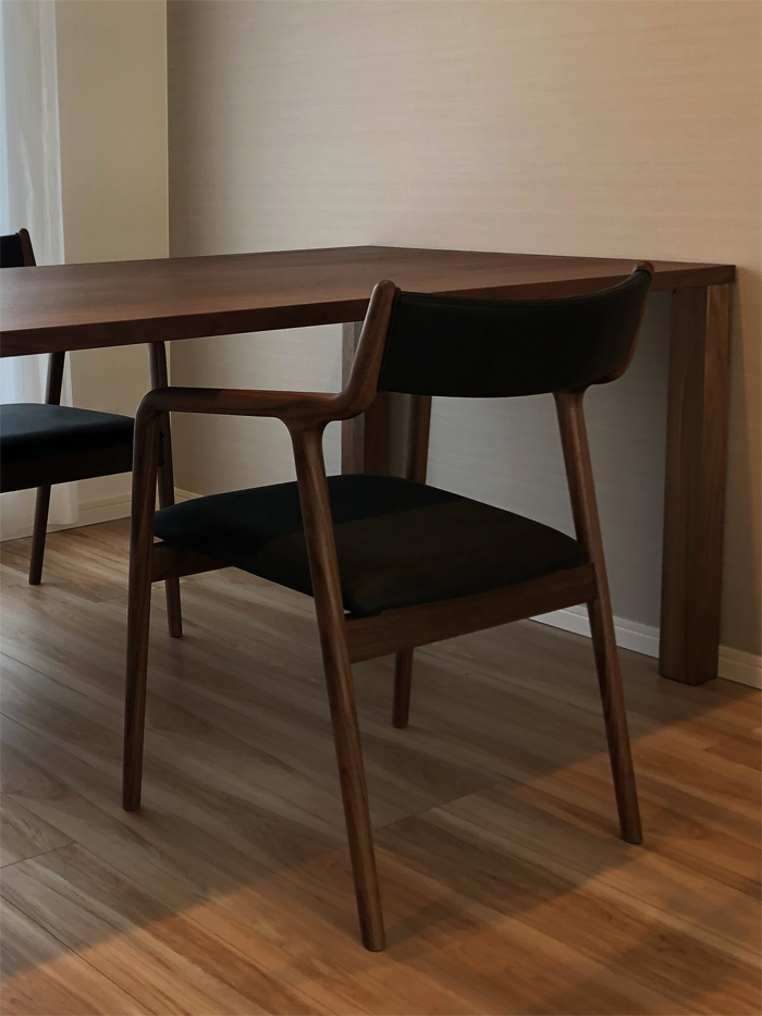特注Dining Table/pepe chair