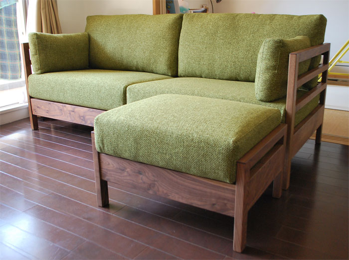 sofa ottoman LATTICE