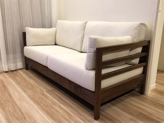 Sofa-LATTICE-walnut-ordermade