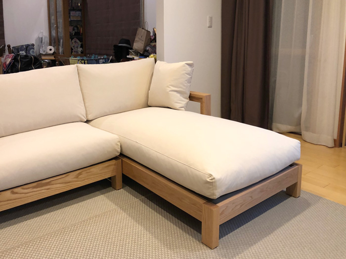 sofa-wave couch-sofa ordermade oak aquaclean living dining