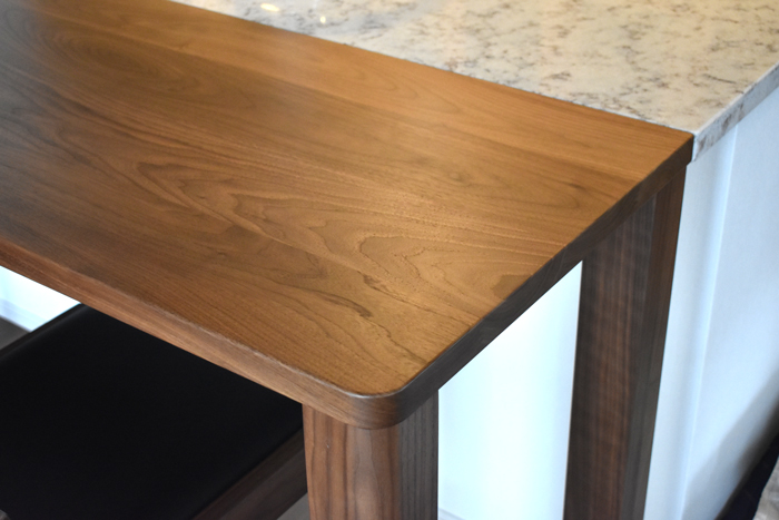 counter-table Walnut leg-joint order
