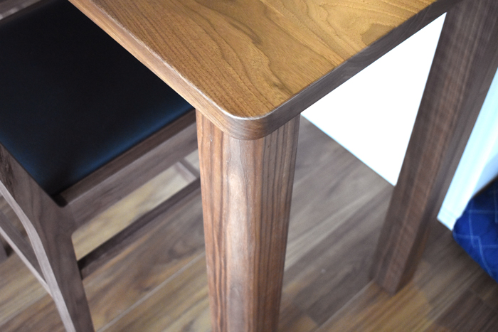 counter-table chair Walnut leg-joint order-made