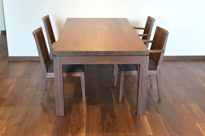 diningtable chair avboard walnut