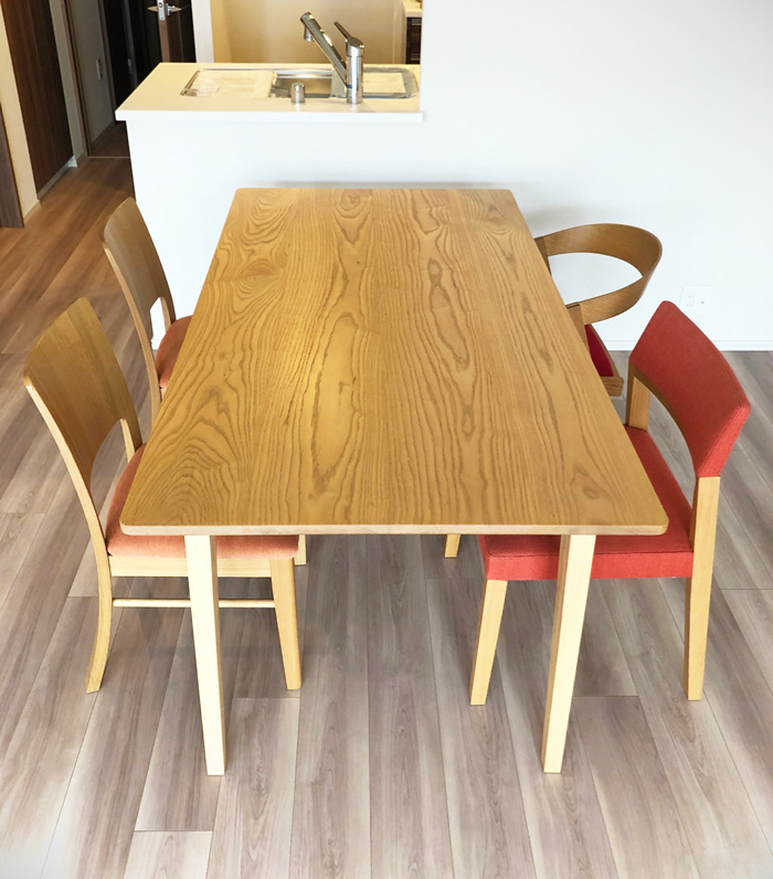 diningtable chair tvboard white ash oak