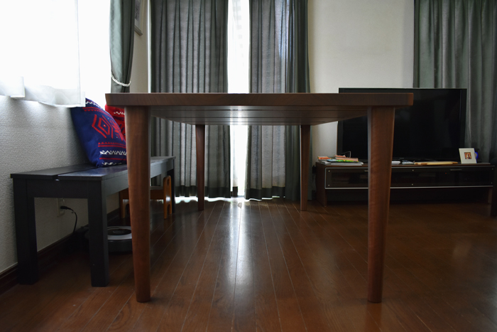 walnut tradition bookmatch diningtable