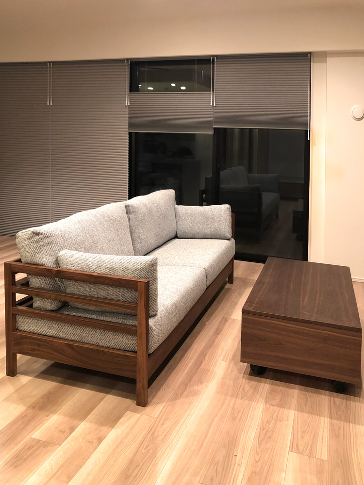 sofa lattice walnut blind livingtable order wagon