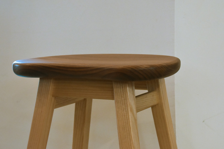 stool walnut ash oridinal ordermade