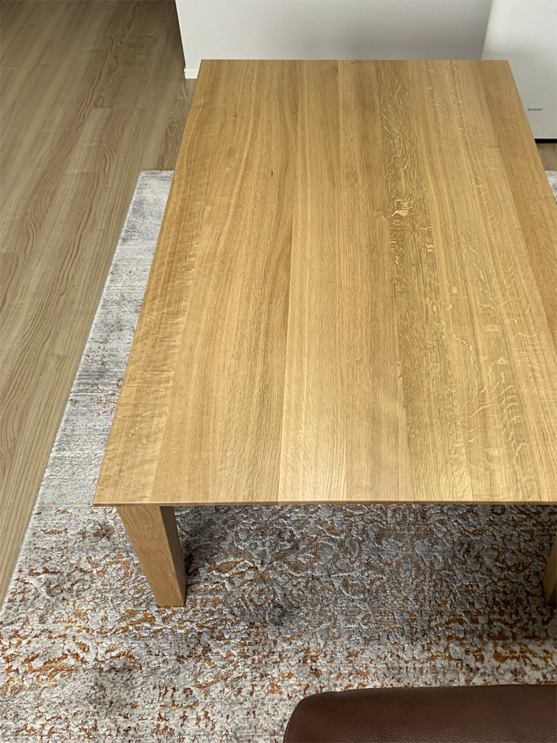 livingtable ordermade oridinal oak