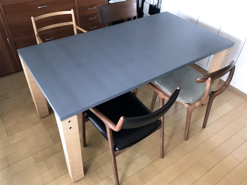 diningtable maintenance repair glay oak
