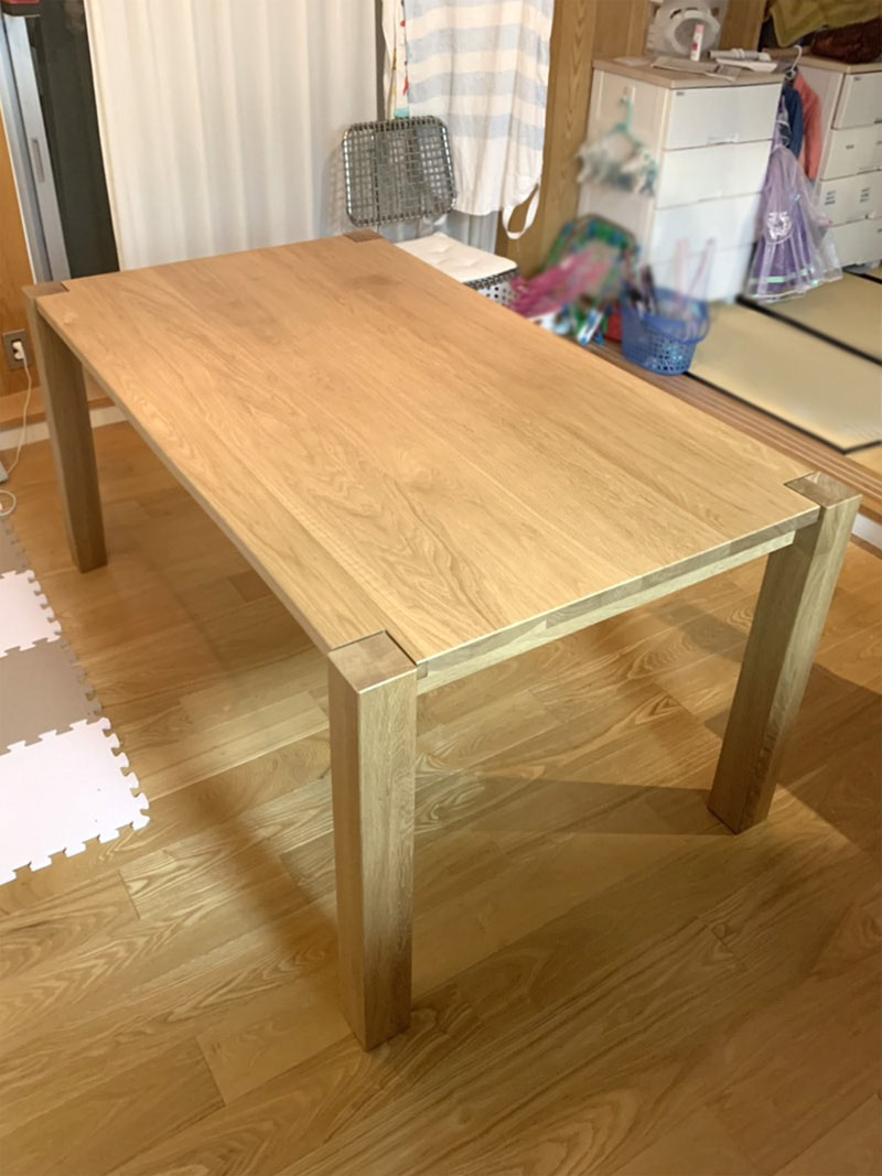 diningtable oridinal ordermade oak