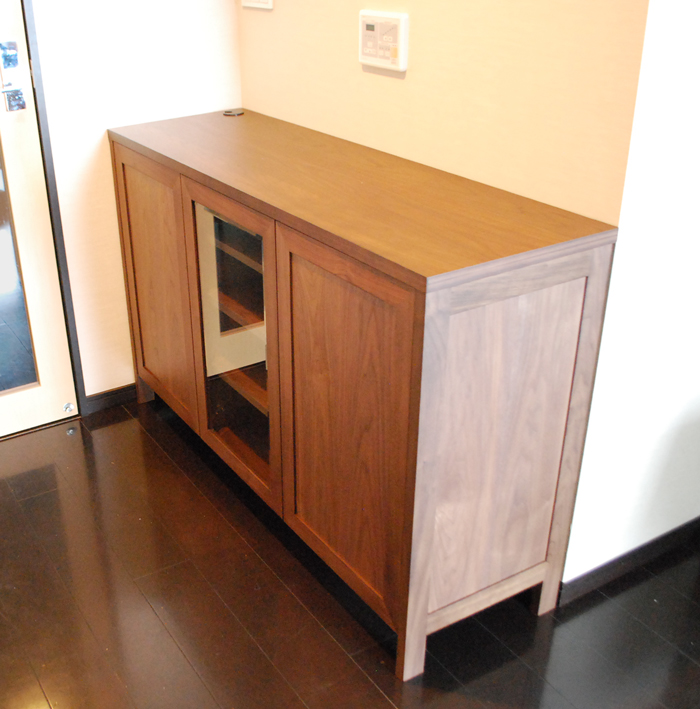 sideboard walnut